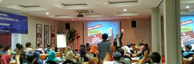 Take Action Be Excellent di Nusa Konstruksi Enjiniring