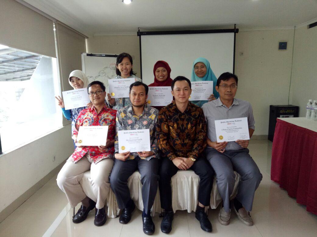 Pelatihan Public Speaking Di BPK-RI